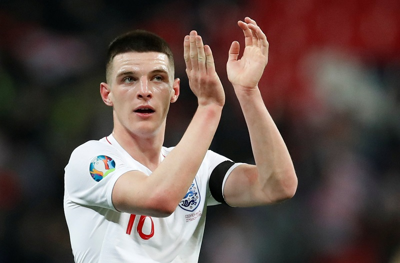 """""""That's Where I Want To Be"""" United Handed Transfer Boost As Declan Rice Drops Clue About Future Plans"""