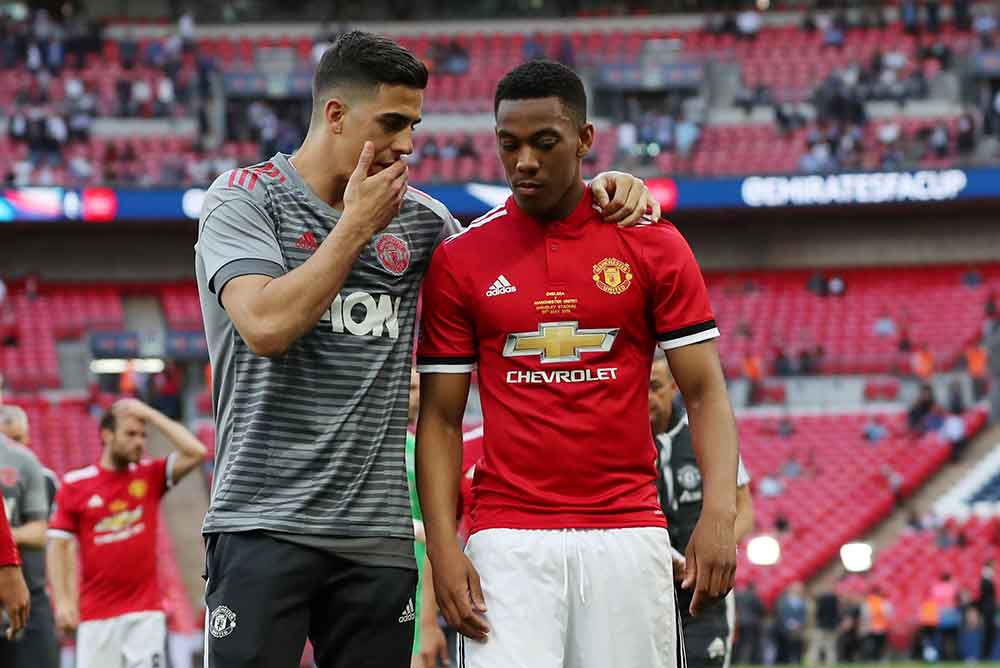 Martial And Fred To Start: Manchester United's Predicted Starting Line Up To Face Norwich