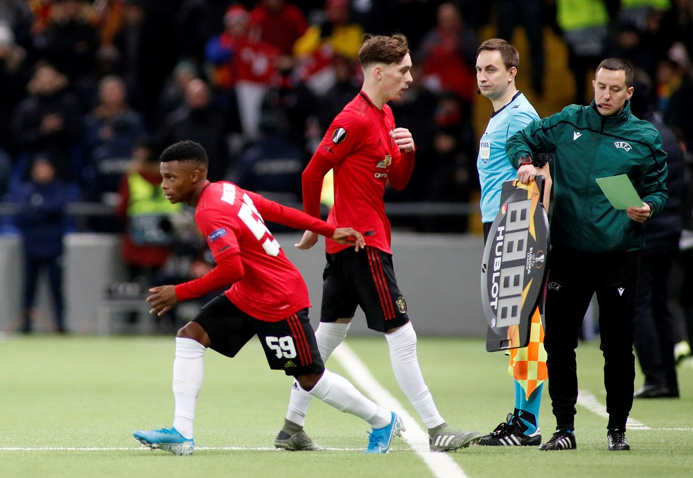 United Release Starlet Who Was Tipped For First Team Breakthough By Scott McTominay Only Last Month