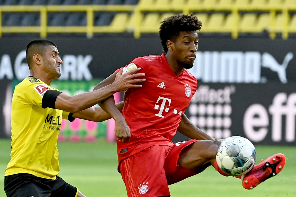 Bayern Make Decision On Kingsley Coman's Potential Move To Old Trafford