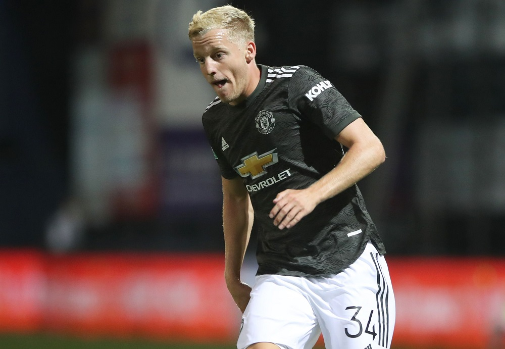 Solskjaer Names The Two United Stars That Van De Beek Has To Emulate If He Is To Break Into The Side